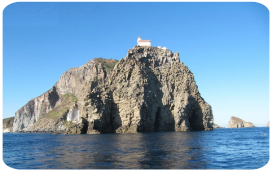 Ponza. L'Isolana, punta guardia